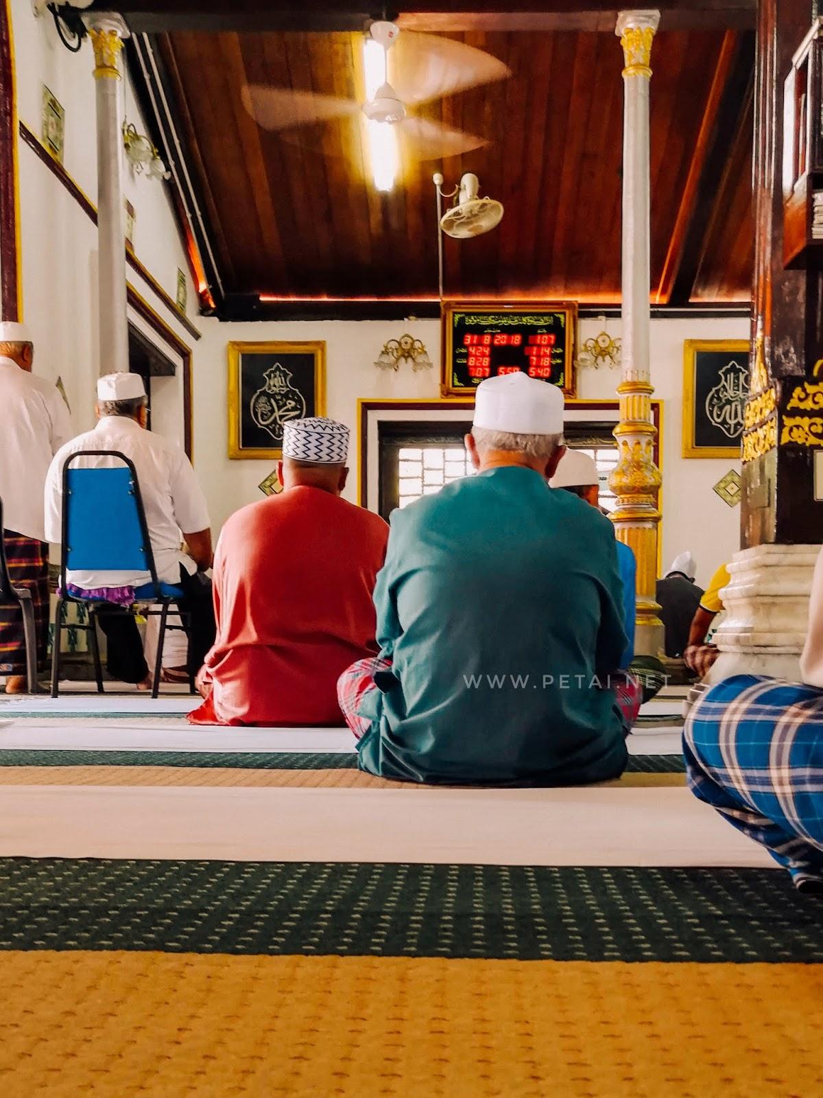 Masjid Tengkera, Melaka - dalam