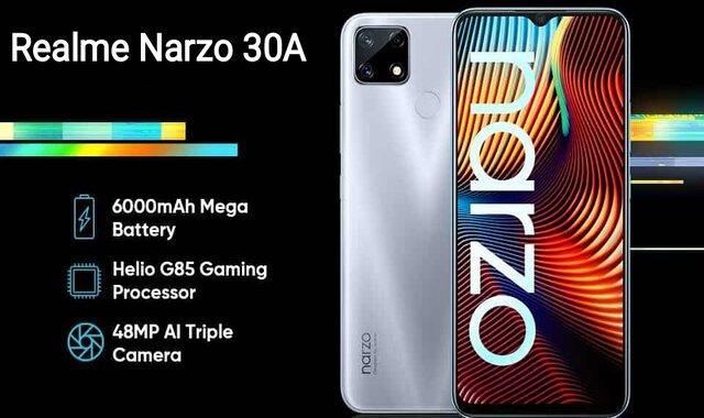 سعر ومواصفات Realme Narzo 30A