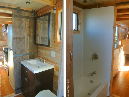 """River Runs Through It"" Tiny House"