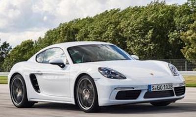 Mobil sports dengan konsumsi bahan bakar paling irit Porsche Cayman