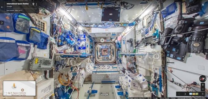 ISS (International Space Station) Google Street View