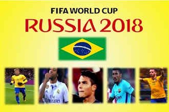 Brazil world cup team 2018, top five footballers of Brazilian squad