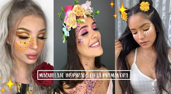 15 maquillajes inspirados en la primavera ¡Para ser la reina en Instagram!