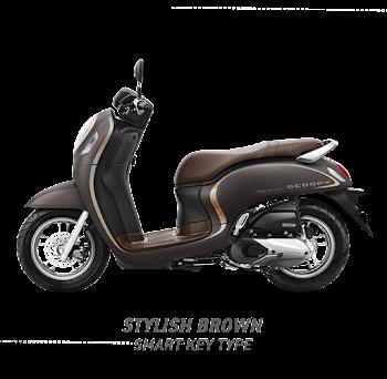 Scoopy ESP stylish black 2020 Sejahtera Mulia Cirebon