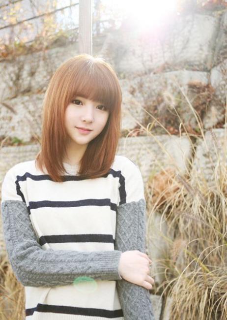 Model Gaya Rambut Tanggung Sebahu Simple Info Terbaru - Gaya rambut pendek sebahu ala korea