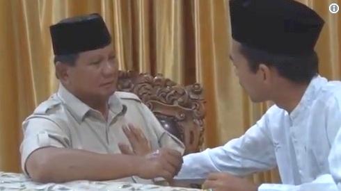 """Makna UAS Pegang Dada Kiri Prabowo Sambil Dibacakan """"La Ilaha Illallah"""""""