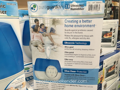 Pure Guardian Ultrasonic Humidifier - great for any room