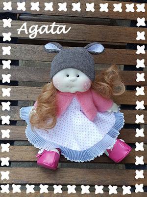 morbida bambola tessuto vestito