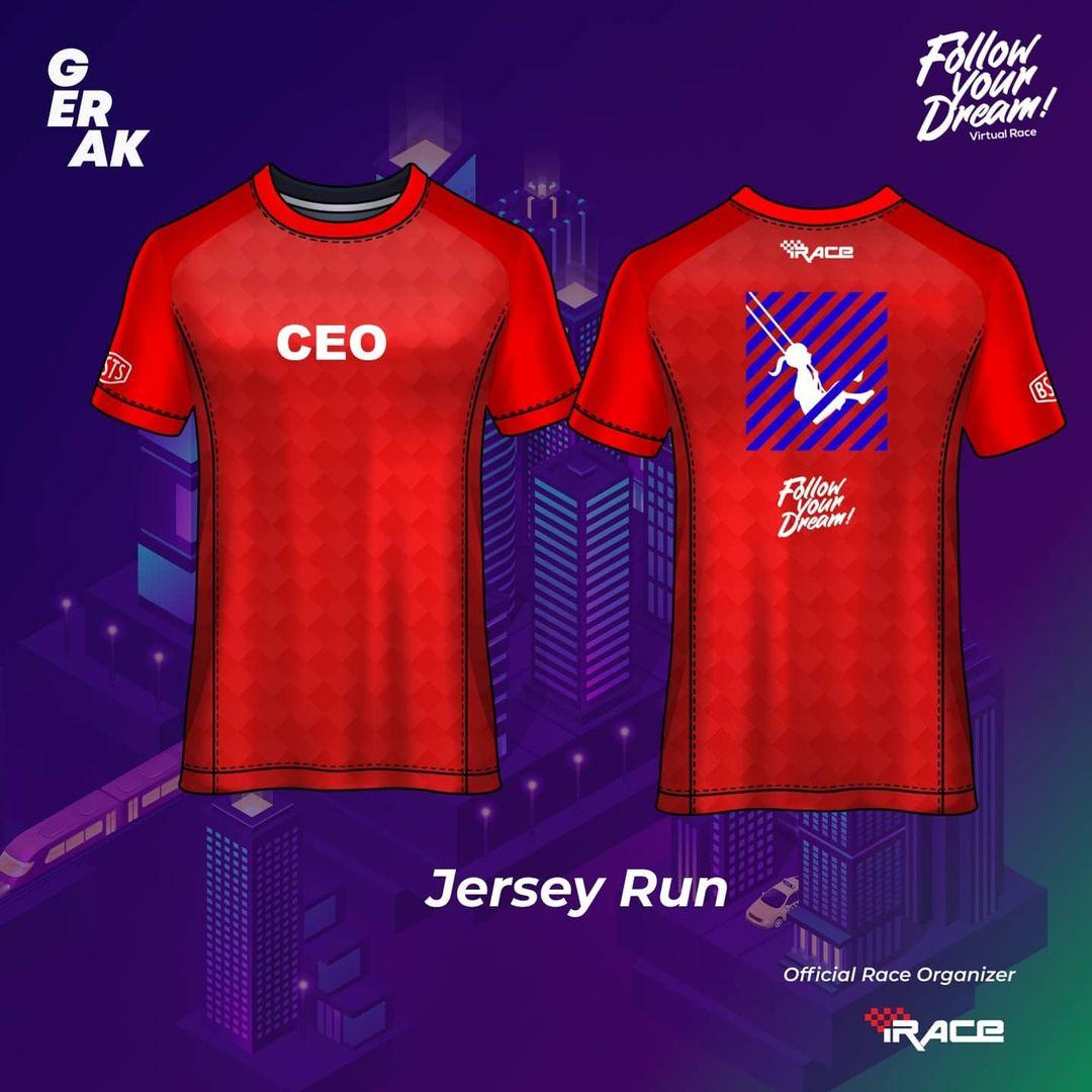 CEO Jersey - Follow Your Dream Virtual Race • 2021