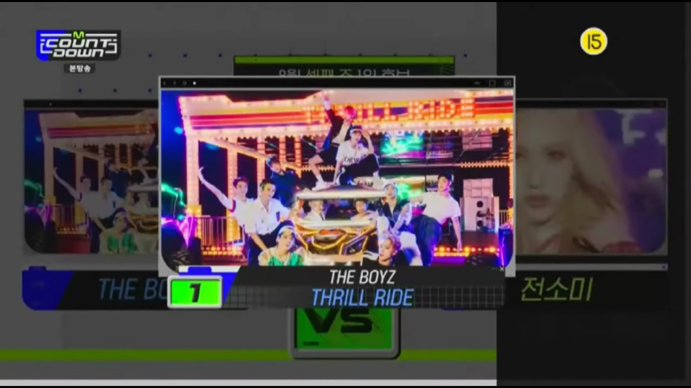 THE BOYZ Takes Home The 3rd Win With 'Thrill Ride' on 'M!Countdown'