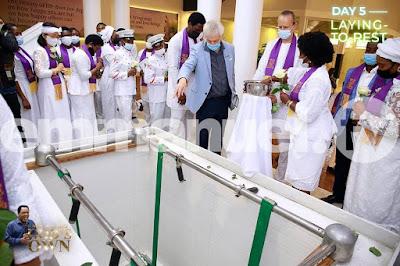 TB Joshua buried at Synagogue church