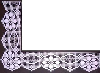 Crochet em revista abril 2013 for Schemi bordure uncinetto filet