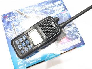 HT Icom IC-M24 VHF New Sisa Stok Murah
