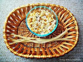 Cheerios Bird Feeder Activity for Kids