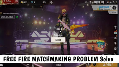 Free fire Matchmaking Problems