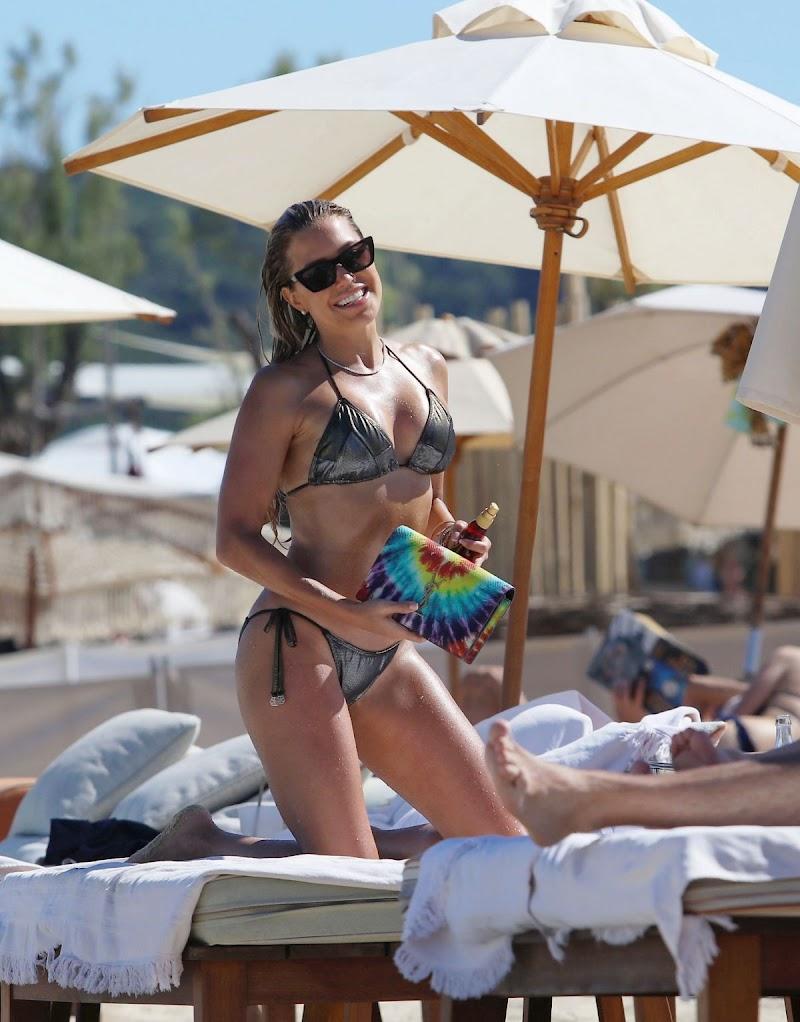 Sylvie Meis Clicked in Bikini at a Beach 22 Jun -2020