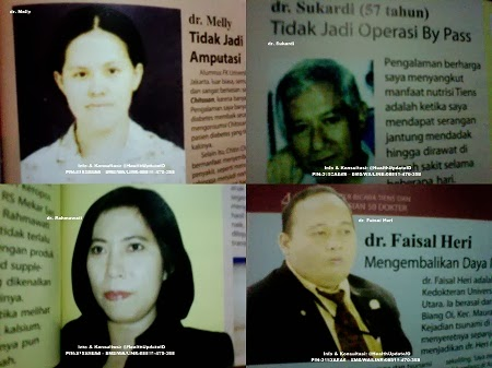 Testimonial dan Kesaksian Dokter tentang Tiens,