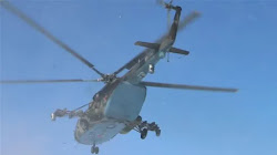 Trực thăng quân sự Nga vi phạm không phận Ukraine