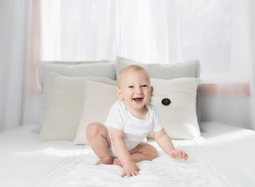 Cute Baby Smile.