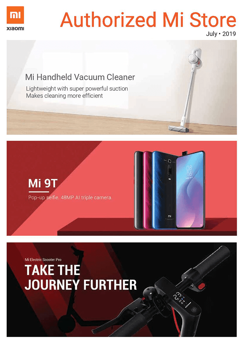 Xiaomi PH releases July 2019 brochure, to launch Mi Band 4 and new