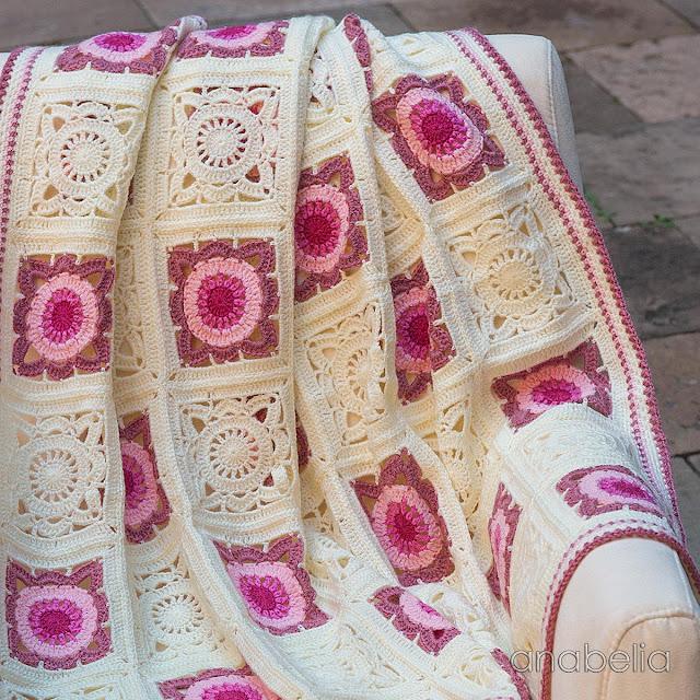 Crochet baby blanket 3, Anabelia