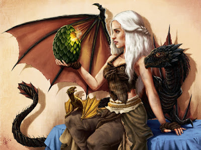 Daenerys Targaryen & Dragons (A Song of Ice and Fire) by George R.R. Martin