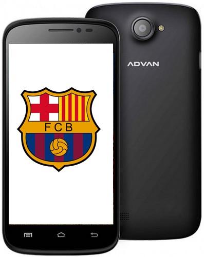 Advan Akan Rilis Smartphone Edisi Khusus Barcelona