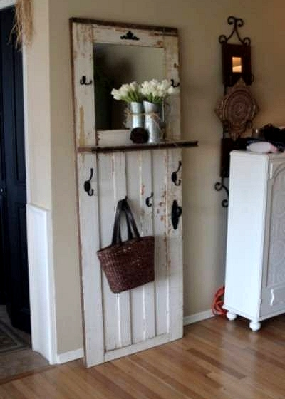 Dishfunctional designs new takes on old doors salvaged for Old wood doors salvaged