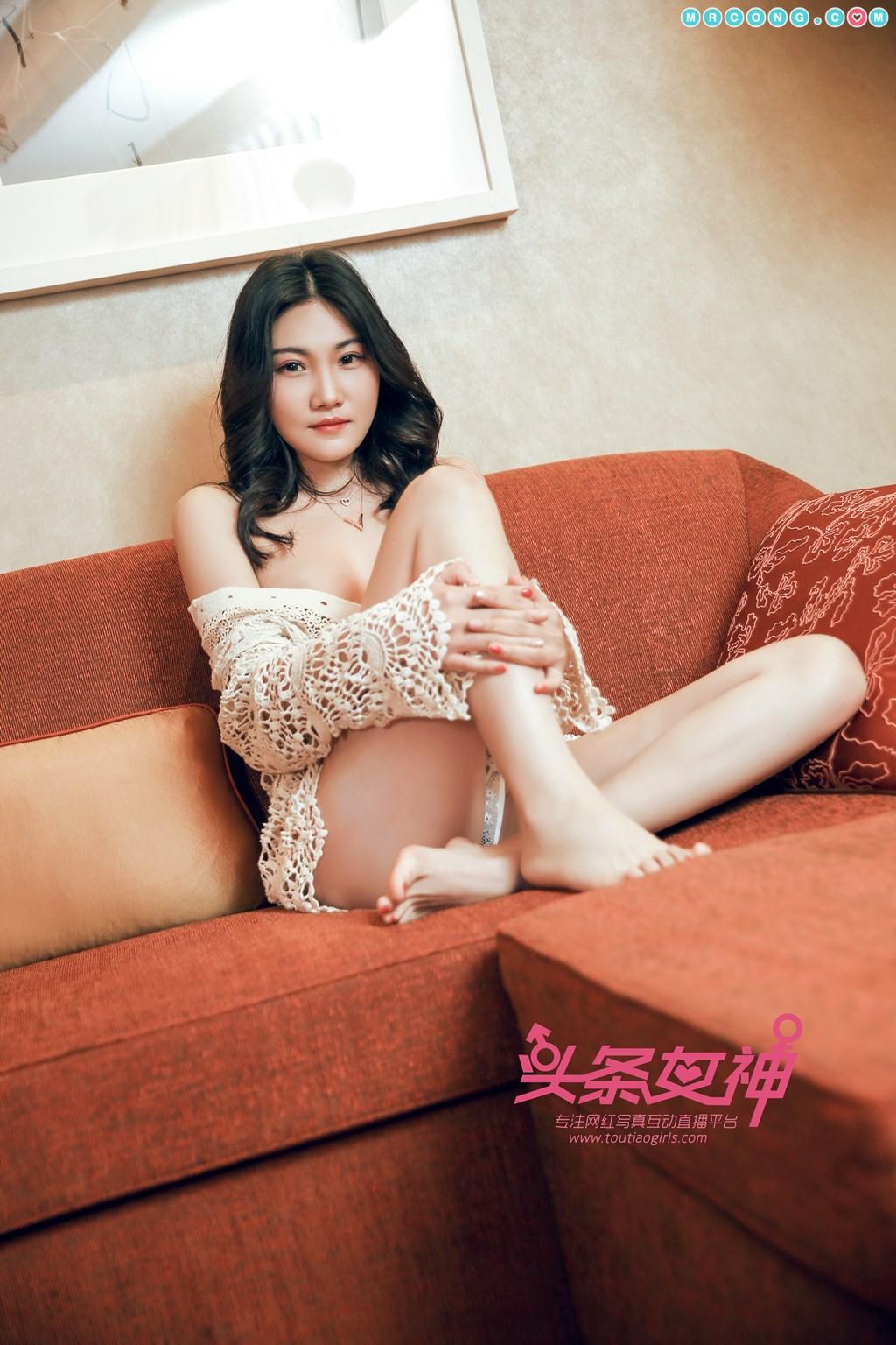 Image TouTiao-2018-04-14-Wan-Jun-MrCong.com-007 in post TouTiao 2018-04-14: Người mẫu Wan Jun (婉君) (26 ảnh)