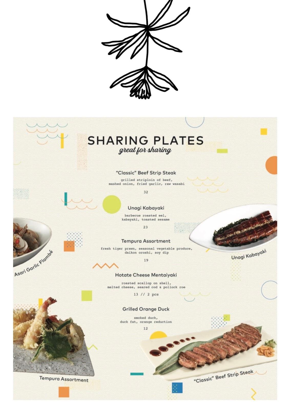 omote menu 8
