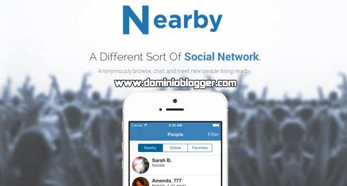 Conoce nuevos amigos con la red social movil y anonima de Nearby