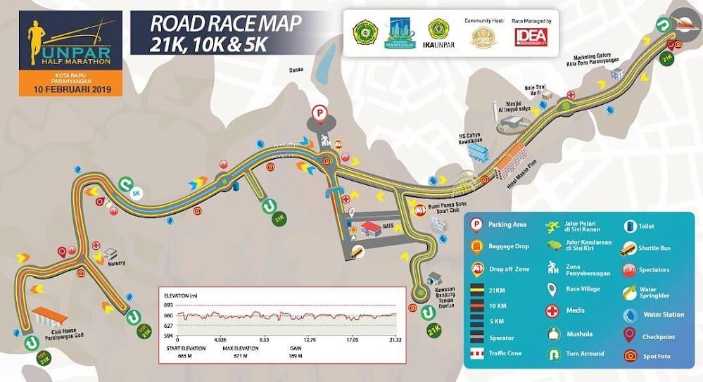 Unpar Half Marathon • 2019