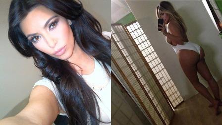 Kim Kardashian como Dios la trajo al mundo