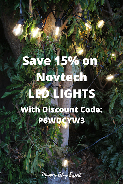 Novtech LED Outdoor String Lights Discount Code