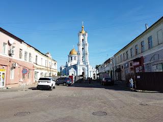 Сумы. Пер. Терезова, соединяющий Соборную и Воскресенскую улицы