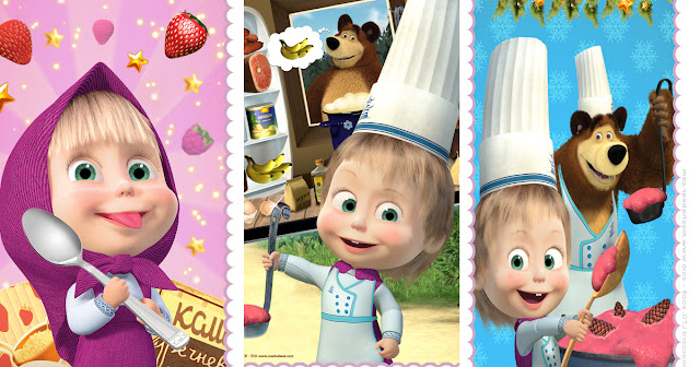 Masha and the Bear Cooking Dash Full Version App walkthrough.
