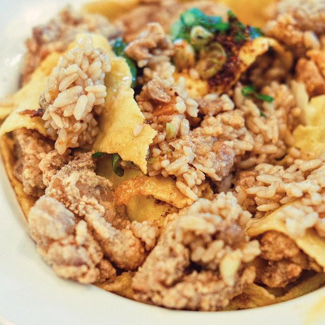 Pop Chicken Teppan Omurice