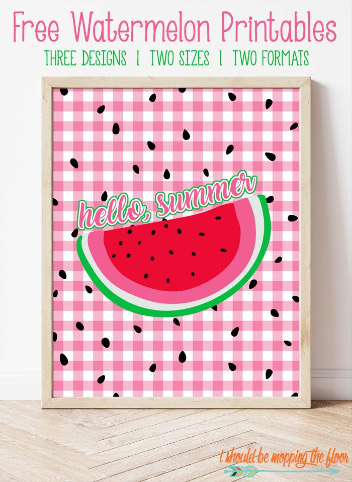 Watermelon Printable