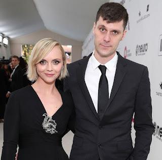 James Heerdegen with his ex-wife Christina Ricci