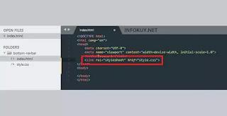 Koneksikan File CSS