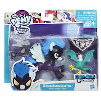 MLP Guardians of Harmony Shadowbolts Pony and Cockatrice Figures