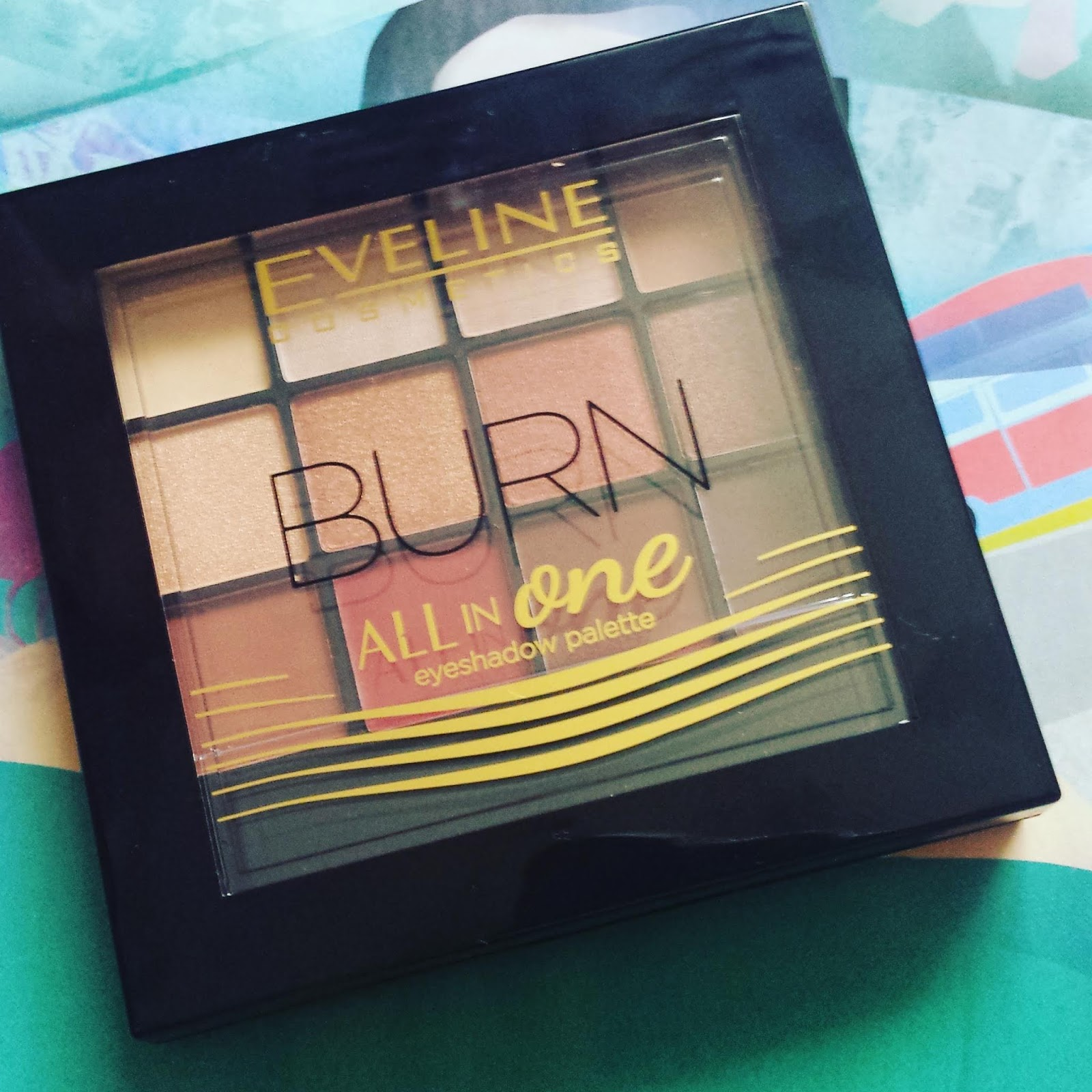 EVELINE ALL IN ONE  BURN PALETA CIENI DO POWIEK