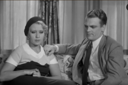 James Cagney and Joan Blondell in Blonde Crazy from 1931