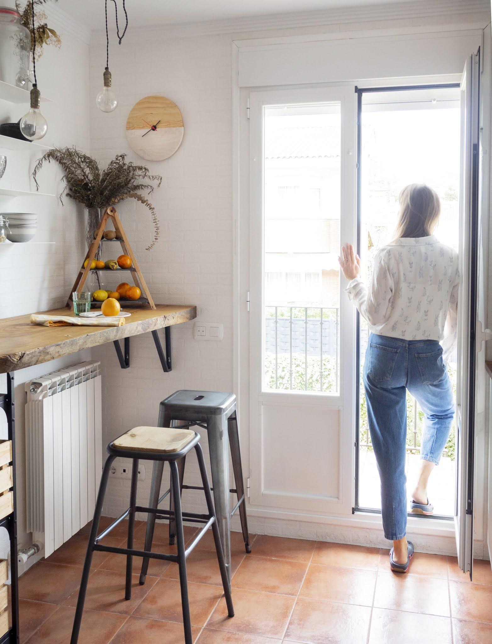 DIY Reloj de madera para nuestra cocina9