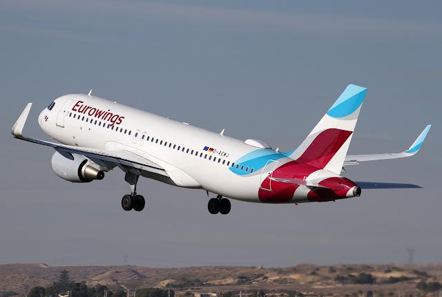 Eurowings anuncia una nueva ruta entre Alicante y Dortmund