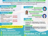 Singapore International Multidisciplinary Academic Conference (SIMAC) 2019