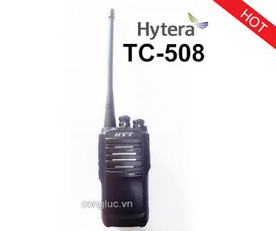 máy bộ đàm cầm tay HYT tc508 giá rẻ