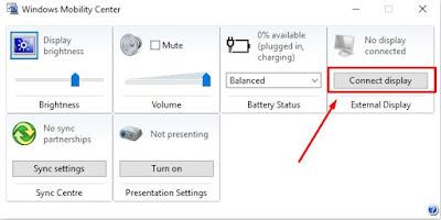 3 Cara settingLaptop Ke Proyektor Untuk Persentase