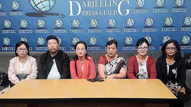 Darjeeling municipality chairperson Prativa Rai Tamang