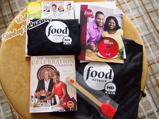 food network asia, neelys, goodie bag, singapore